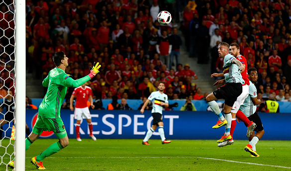 Vokes' header sealed the victory in the final few minutes. | Photo: Getty