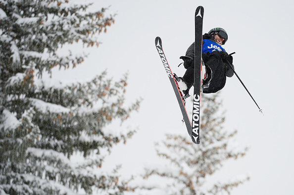 Wells during the Slopestyle event at the X Games. | Photo: Denver Post/Brent Lewis
