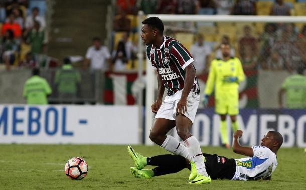 Wendel surgiu na Copinha deste ano e assumiu a titularidade (Foto: Divulgação/Fluminense)