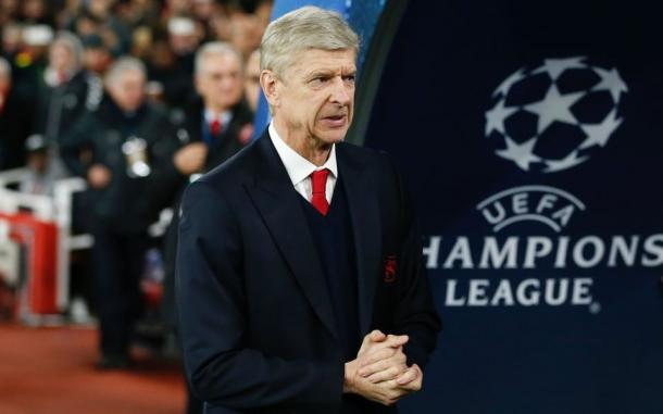 Wenger en un encuentro de Champions League. Foto: Getty Images.
