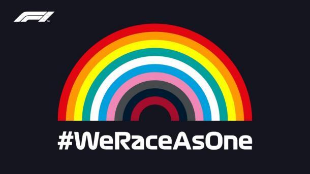 Logo de la campaña. Foto: F1