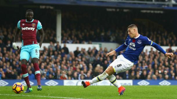 Everton contra West Ham | Foto: Everton