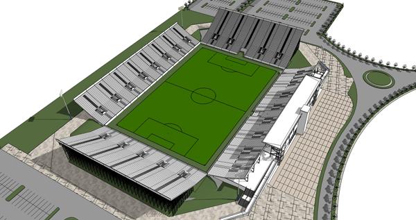 Estadio de Pacific FC. Fuente: Pacific FC