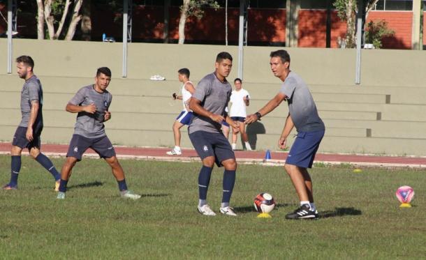 Netão vai comandar o Leão interinamente no confronto com o Independente (Foto: Samara Araújo/Ascom Remo)