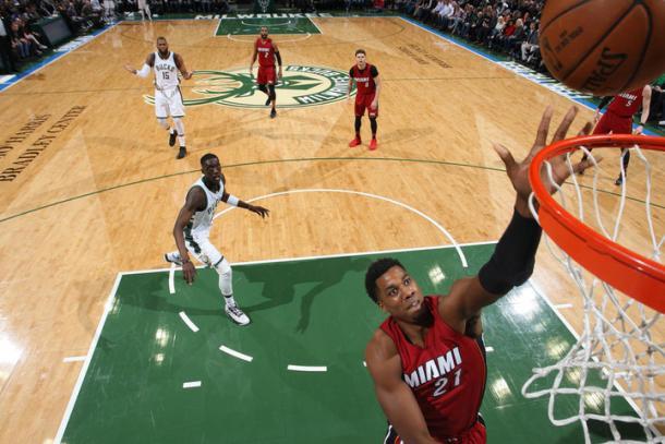 Hassan Whiteside, incognita numero uno per gli Heat - Foto Miami Heat Twitter