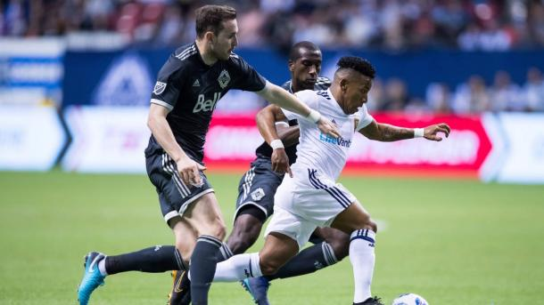 The Whitecaps snapped their three-game losing streak against RSL | Source: Darryl Dyck-Canadian Press