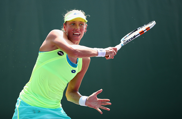 Yanina Wickmayer Had Chances In The Set But Could Not Make The Most Of Them. Photo: Clive Brunskill/Getty Images