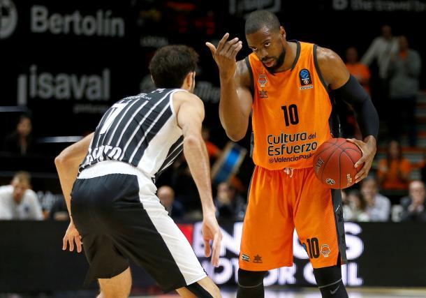 Will Thomas, amenaza de Valencia Basket. | Foto: Eurocup