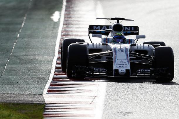 La Williams in pista