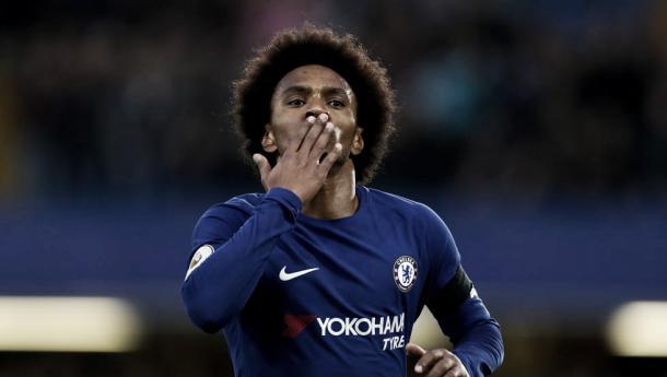 Willian seguirá en el Chelsea I Foto: Chelsea
