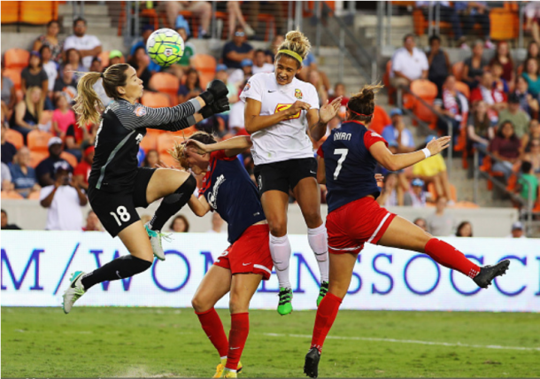 The Western New York Flash beat the Washington Spirit in the 2016 NWSL Championship on penalty kicks. The Flash have since become the North Carolina Courage. | Photo: Scott Halleran - Getty Images