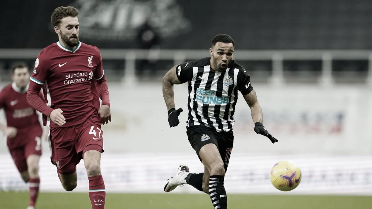 Wilson tuvo la oportunidad de adelantar al Newcastle./ Foto: Premier League