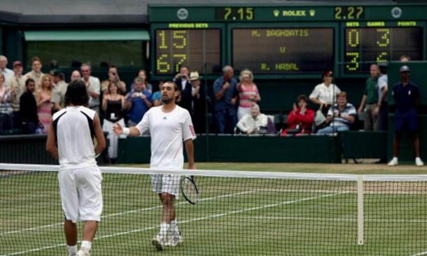 The pair's only previous meeting at a Grand Slam was at Wimbledon in 2006 (Photo: Getty Images/Clive Brunskill)