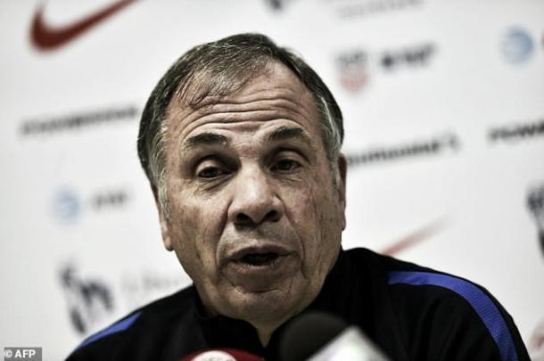 Bruce Arena focused on game against island rather than Mexico. Photo: AFP