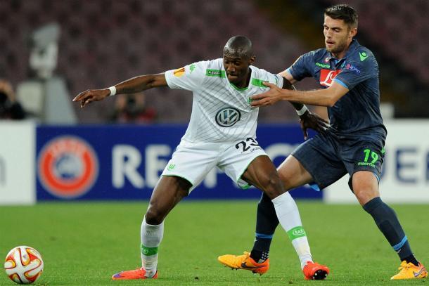 Guilavogui se ha vuelto una pieza clave para el Wolfsburgo. // (Foto de okdiario.com)