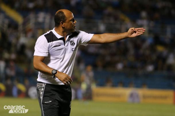 """Após um pouco mais de um ano fora, Sérgio Soares volta para tentar """"reerguer"""" alvinegro (Foto: Christian Alekson/Ceará SC)"""