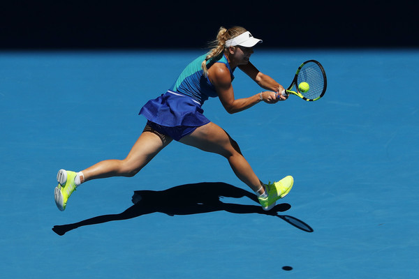 Wozniacki has a tough test on her hands (Photo by Scott Barbour / Getty Images)