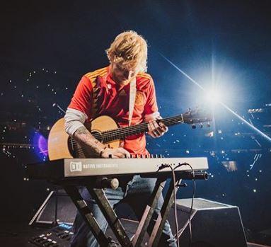Foto: Instagram Oficial de Ed Sheeran (@teddysphotos)