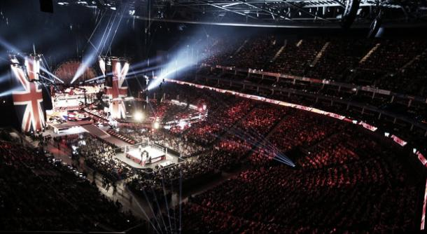 One of WWE'S London shows (image: highlightnation.com)
