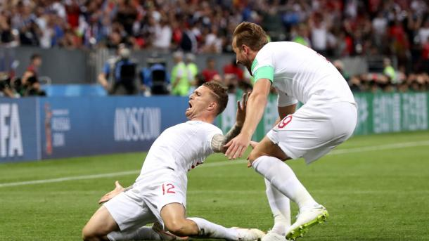 England could not wish for a better start after Kieran Trippier put them ahead early | Source: Getty Images via FIFA.com