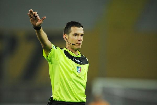 L'arbitro Ghersini. Fonte: www.udinese.it