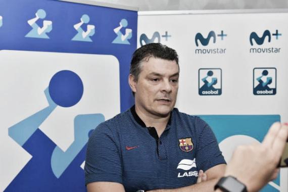 Xavi Pascual, entrenador del Barcelona Lassa | Foto:fcbarcelona.es