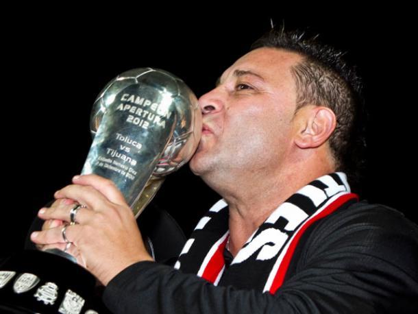 Antonio Mohamed Campeón con Xolos | Foto: Pasión Tijuana