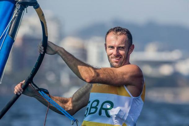 Dempsey still leads the windsurfing (photo: Yachts and Yachting)