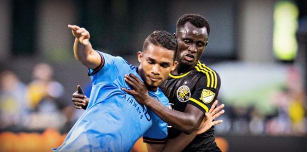 Yangel Herrera en un partido de la MLS / Foto: Futbol MLS