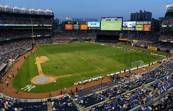 Yankee Stadium durante un partido de NYCFC (worldosccertalk.com)