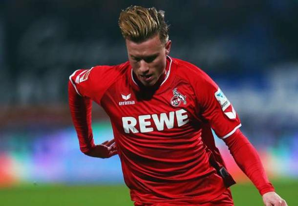 Yannick Gerhardt during his time in Köln | Photo: Goal