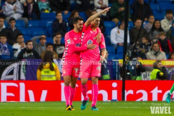 Yeray, autor del gol ante el Real Madrid. | FOTO: Daniel Nieto - VAVEL