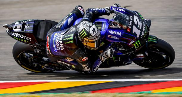 Viñales, segundo podio consecutivo y tercero del año. Foto: Yamaha MotoGP