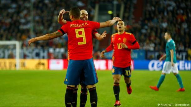 Rodrigo deixou o dele contra a Alemanha