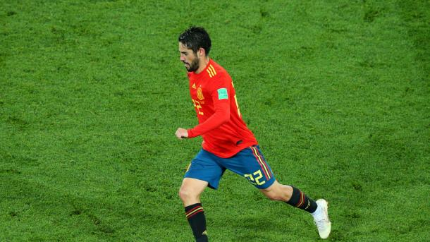Isco, la figura de España | Foto: FIFA.com