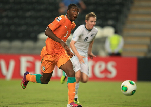 Meité has represented Ivory Coast at youth level. | Photo: Getty - 2013