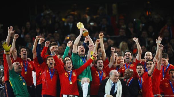 Espanha finalmente conquistou o mundo
