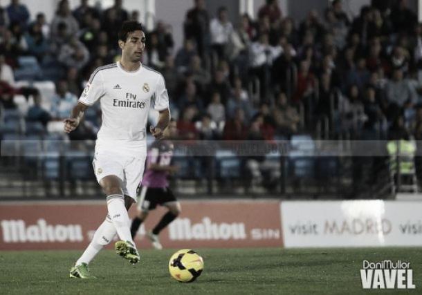 José Rodríguez durante un partido con el Rel Madrid Castilla | Imagen: Dani Mullor