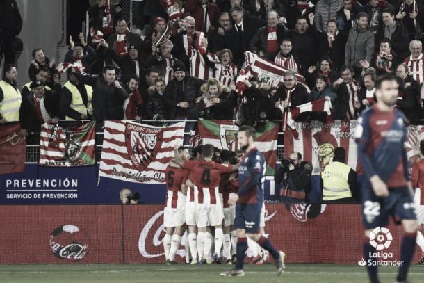 Celebración del 0-1 | Foto: LaLiga