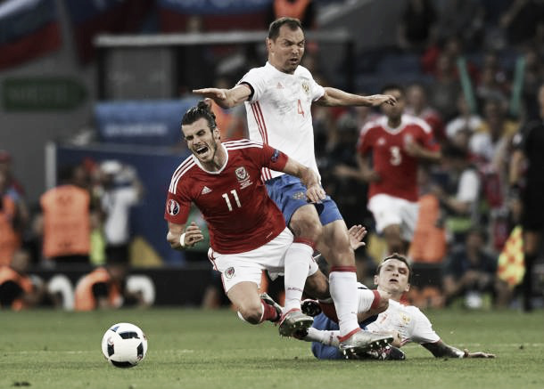 Gareth Bale is creating havoc upfront for Wales l Photo: uefa.com