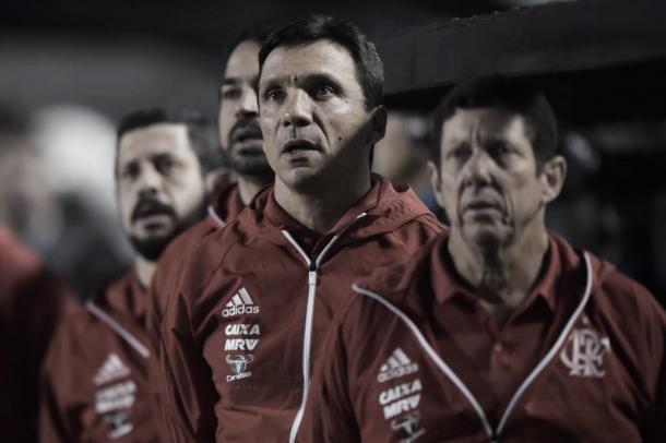 Zé Ricardo foi um dos mais hostilizados pela torcida durante o desembarque do Flamengo (Foto: Divulgação/Flamengo)
