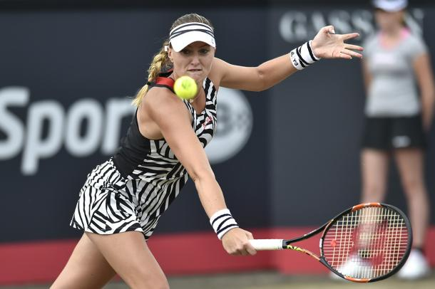Mladenovic had the lead but fails to close out | Photo: Ricoh Open