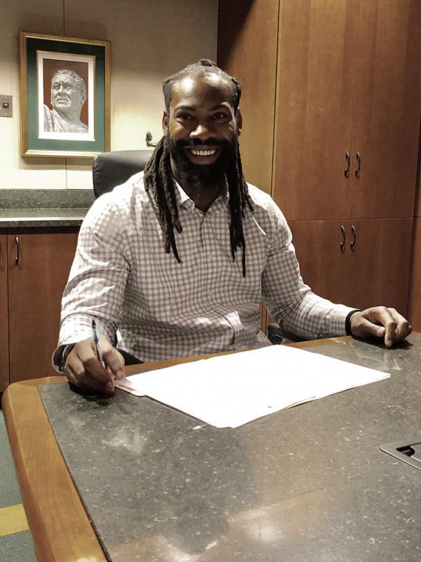 Zadarius Smith fue una de las bajas mas importantes de la defensiva raven (foto Packers.com)