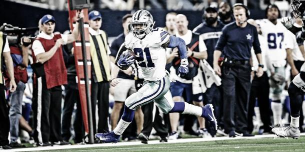 Ezequiel Elliott, estrella indiscutida de esta franquicia (foto Dallas Cowboys)