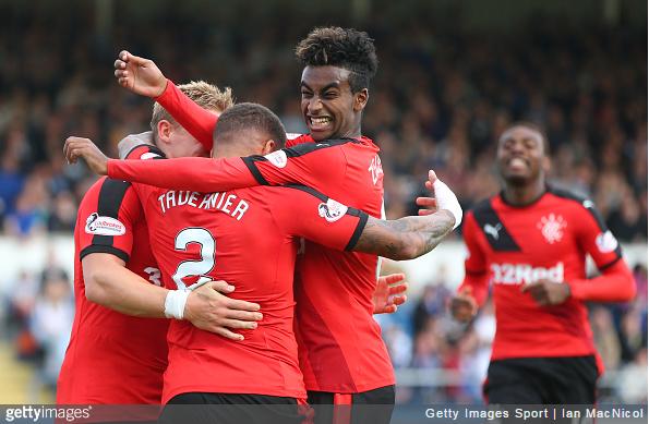 Zelalem celebrates.