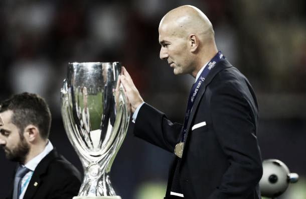 Zidane conquistou seu sexto título como treinador do Real (Foto: Amin Mohammad Jamali/Getty Images)