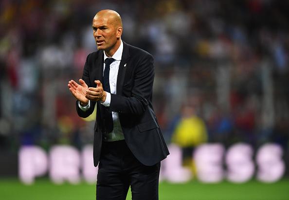 Campeão europeu em seu primeiro ano como técnico, Zidane terá time desfigurado na Champions Cup (Foto: Getty Images)