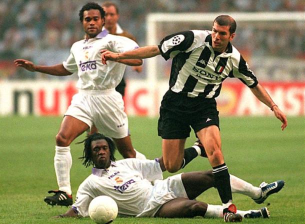 Zidane en la final de 1998 con la camiseta de la Juve/ FOTOGRAFÍA: Juventus.