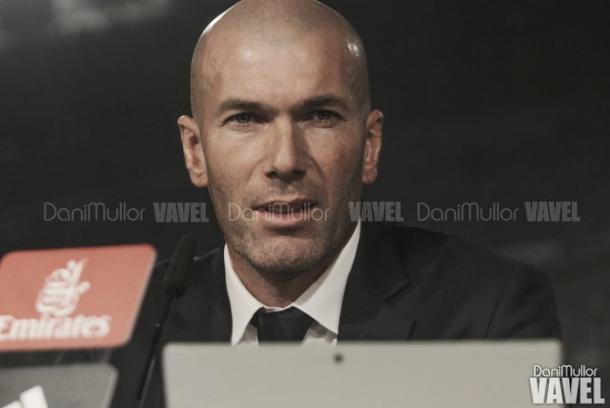 Zinedine Zidane en una rueda de prensa | Foto: VAVEL