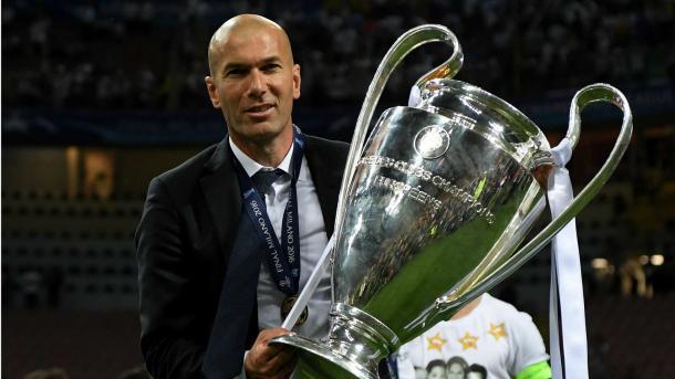 Zidane con la Undécima. Foto: Getty Images